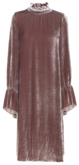 SEE BY CHLOE - Velvet Rose Dress - Designer Dress Hire