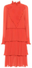 CHRISTOPHER KANE - Pink Fold Dress - Designer Dress hire