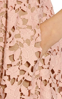 Self Portrait - Azaelea Pink Lace Dress - Designer Dress hire