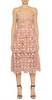 ELISE RYAN - Front Studded Waist Dress - Designer Dress hire