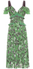 MSGM - Floral Midi Dress - Designer Dress hire
