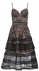 HOTSQUASH - Gold Black Sequin Gown - Designer Dress hire
