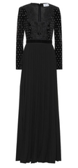 Self Portrait - Crystal Velvet Dress - Rent Designer Dresses at Girl Meets Dress