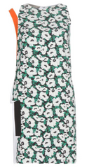 STELLA MCCARTNEY - Odile Printed Crepe Dress - Designer Dress Hire