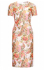 GHOST - Meryl Dress Smudge Botanics - Designer Dress hire