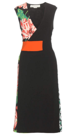 STELLA MCCARTNEY - Orange Waistband Dress - Designer Dress hire