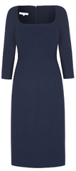 SUZANNAH - Selena Wool Shift Dress - Designer Dress Hire