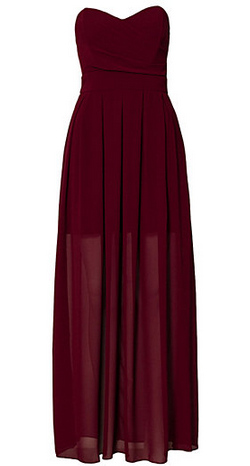 TFNC - Elida Maxi Dress Red - Designer Dress hire