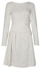 THE FOLD - Camelot Dress White Tweed - Rent Designer Dresses at Girl Meets Dress