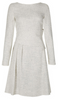 VICTORIA BECKHAM - Grey Shade Dress - Designer Dress hire