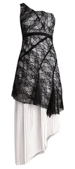 THREE FLOOR - Monochrome Occasion Dress - Designer Dress Hire