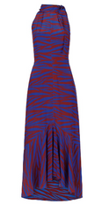 WHISTLES - Peria Tiger Print Silk Dress - Designer Dress Hire