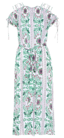 TORY BURCH - Asilomar Printed Dress - Designer Dress hire
