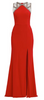UNIQUE - Lipstick Red Gown - Designer Dress hire