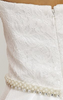 UNIQUE - Madonna White Wedding Dress - Designer Dress hire