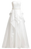 GINA BACCONI - Reegan Satin Skirt Dress - Designer Dress hire
