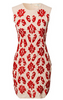GORGEOUS COUTURE - The Liberty Maxi Red - Designer Dress hire