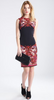 VERSACE - Nero Print Shift Dress - Designer Dress hire