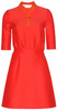 NICOLE MILLER - Felicity Gown Red - Designer Dress hire