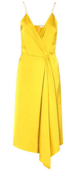 VICTORIA BECKHAM - Gold Hue Dress - Designer Dress Hire