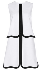 VICTORIA BECKHAM - Wave Hem Shift Dress - Designer Dress Hire