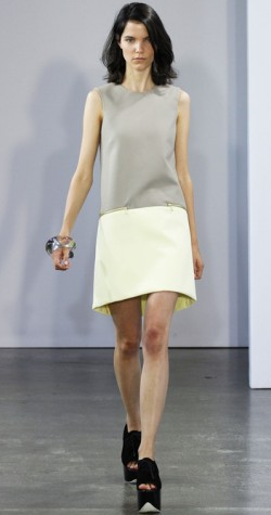 VICTORIA BECKHAM - Lemon Sorbet Dress - Designer Dress hire