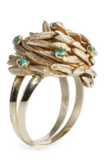 KNIGHTSBRIDGE ROCKS - Vintage Foliate Dress Ring - Designer Dress Hire