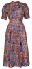 STELLA MCCARTNEY - Floral Silk Shirt Dress - Designer Dress hire
