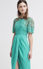 VIRGOS LOUNGE - Turquoise Millie Gown - Designer Dress hire