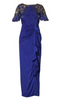 DKNY - Feather Hem Dress - Designer Dress hire