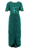 CLOVER CANYON - Chiffon Caftan Dress - Designer Dress hire