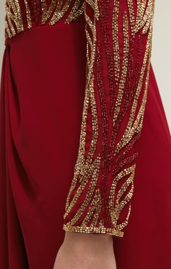 VIRGOS LOUNGE - Kiera Red Dress - Designer Dress hire