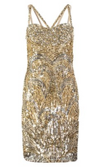 VIRGOS LOUNGE - Steel Cocktail Dress - Designer Dress Hire
