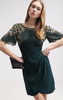 VIRGOS LOUNGE - Millie Green Cocktail Dress - Designer Dress hire