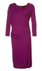 Vivienne Westwood Anglomania - Purple Draped Dress - Designer Dress hire
