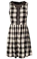 NEUW - Spector Check Dress - Designer Dress Hire