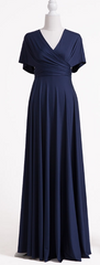 WILLOW & PEARL - Willow Multiway Navy Dress - Designer Dress Hire