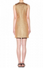 VICTORIA BECKHAM - Wool Metallic Dress - Designer Dress hire