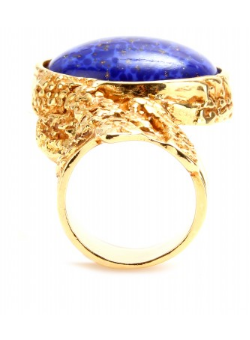 YVES SAINT LAURENT - Glass Stone Ring - Designer Dress hire