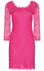 DARK PINK - See Through Dress - Designer Dress hire