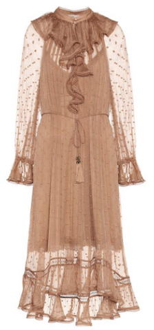 ZIMMERMAN - Rustic Ruffle Dress - Designer Dress hire