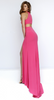 SHERRI HILL - Emilie Coral Dress - Designer Dress hire