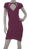 HERVE LEGER - V-Neck Bandage Dress - Designer Dress hire