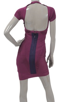 HERVE LEGER - Fushia Dress - Designer Dress hire