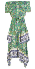 BH - Alivia Print Maxi Dress - Rent Designer Dresses at Girl Meets Dress