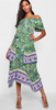 BH - Alivia Print Maxi Dress - Designer Dress hire