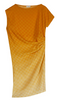 DRIES VAN NOTEN - Silk Draped Column Dress - Designer Dress hire