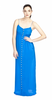 DUCIE - Maxi Dress - Azure Blue - Designer Dress hire
