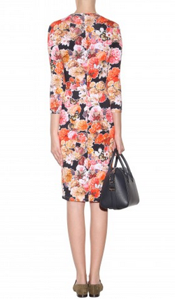 GIVENCHY - Floral Print Midi Dress - Designer Dress hire
