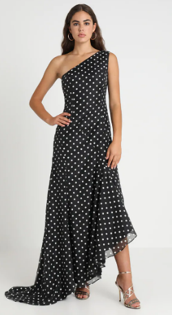 KEEPSAKE - Limits Polka Dot Gown - Designer Dress hire